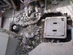 コンクリート製から樹脂製のタメマスに取替え
