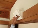 モニター親機を壁掛けアダプターに取付「壁掛けアダプター作り」6