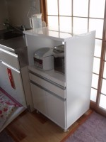 キッチンワゴンの組立「ミニキッチンを取付」58