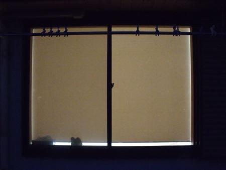 窓外からのロールスクリーン「高齢者が住みやすい部屋作り」