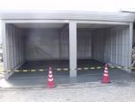 ガレージ内の換気扇「タクボガレージ」6