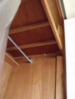 柱を建てる下準備「天井収納」18