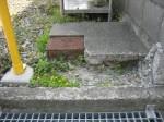 水道メーターボックスを移動 その1