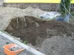 駐車場を畑に・・・・畑の土作り その9