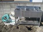 流し台用の水道配管「駐車場に散水栓」4