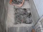 バルブボックスの鉄蓋作り「駐車場に散水栓」11
