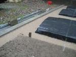 駐車場を畑に・・・・畝作り 5.大雨