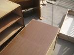 不要な家具を処分「廃材を利用」1