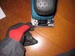 マキタBO3710を使う「洗面所をリフォーム」37