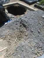 果樹植え穴掘り2