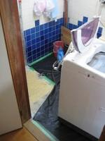 クッションフロア剥ぎ その2「洗面所をリフォーム」Ⅱ18