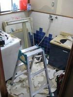 クロス剥ぎ「洗面所をリフォーム」Ⅱ19