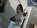 アルミジョイナーの切断方法「洗面所をリフォーム」Ⅱ57