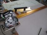 丸鋸ガイドMRG-L1000を使う「洗面所をリフォーム」Ⅱ69