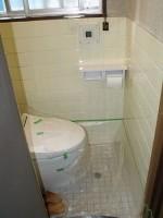 トイレに蛇口を取付